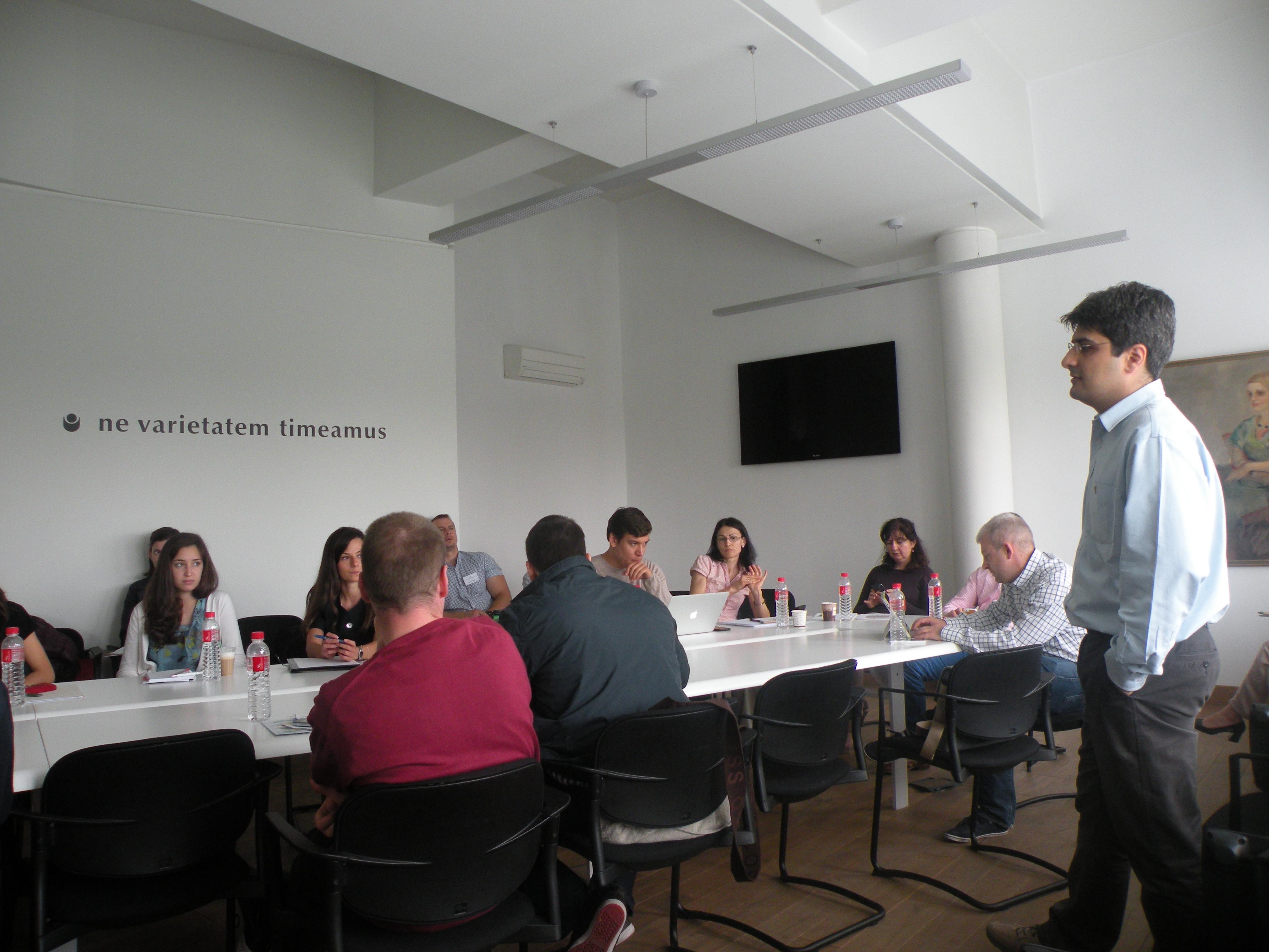Софийско бизнес училище - Мастър класове 2015 г.